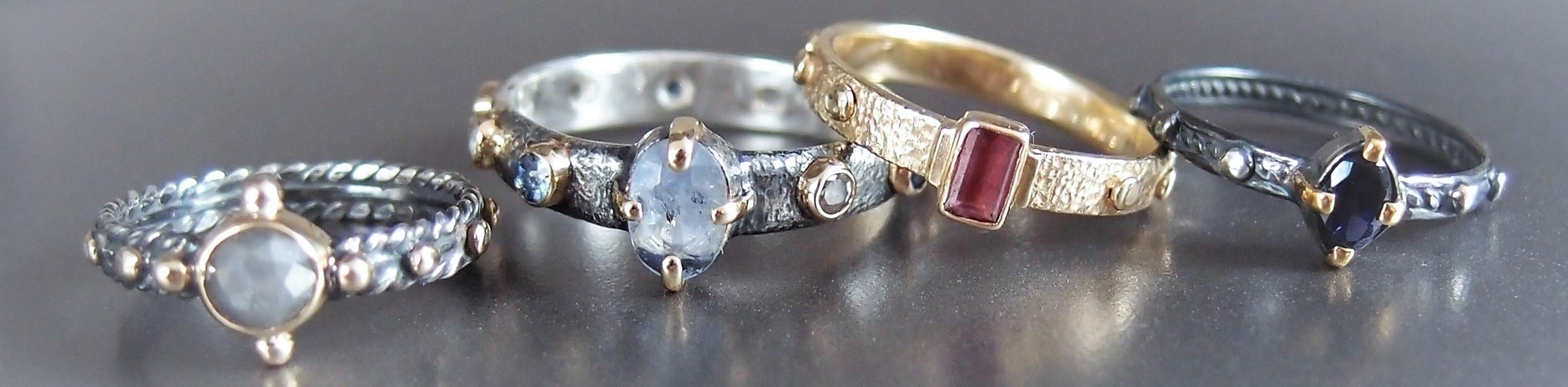 pierścionki różańce