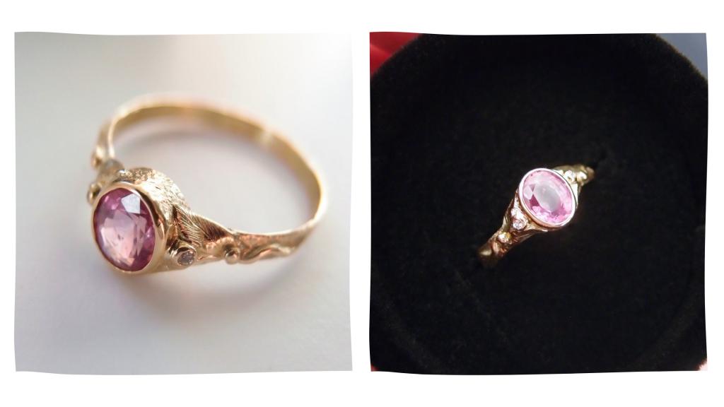 biżuteria pierścionek zaręczynowy