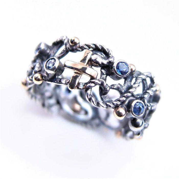 pierścionek różaniec - rosary ring