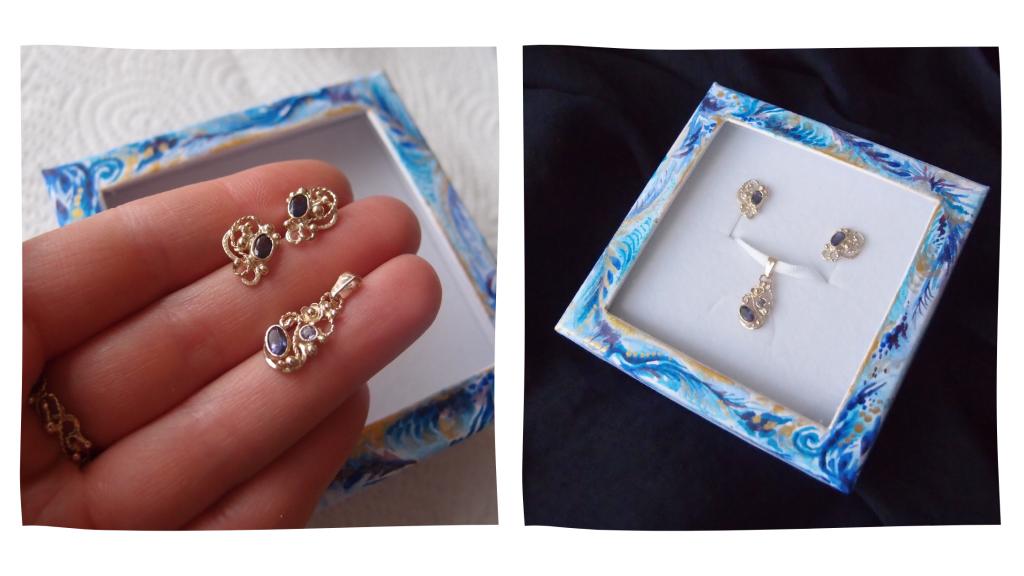 special gold earrings