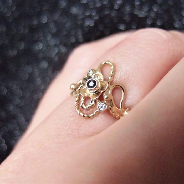 Oryginalny pierścionek zaręczynowy dla marzycielki od Lookrecya